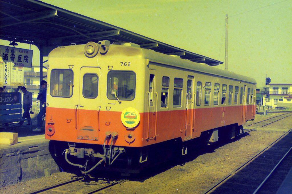 筑波駅の列車
