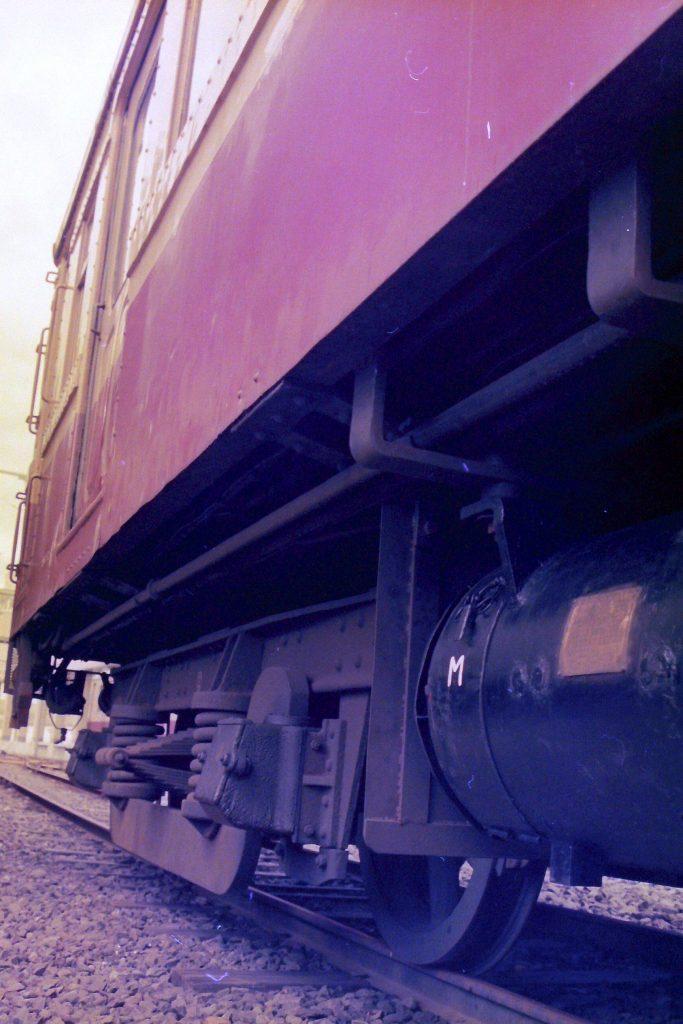 弘南鉄道旧型車両台車