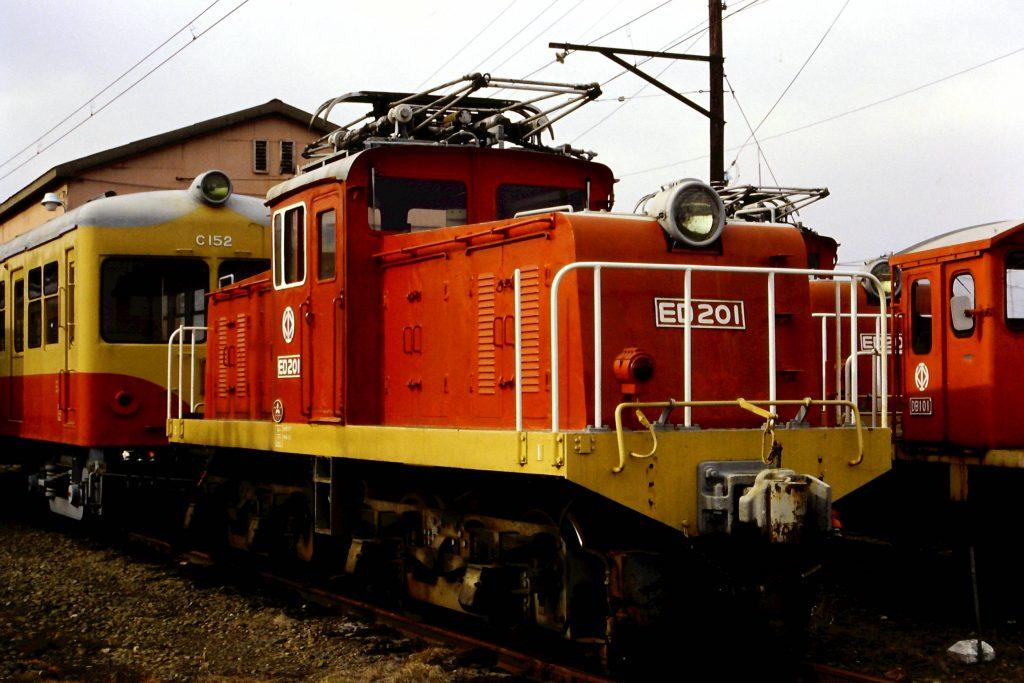 栗原電鉄ED201