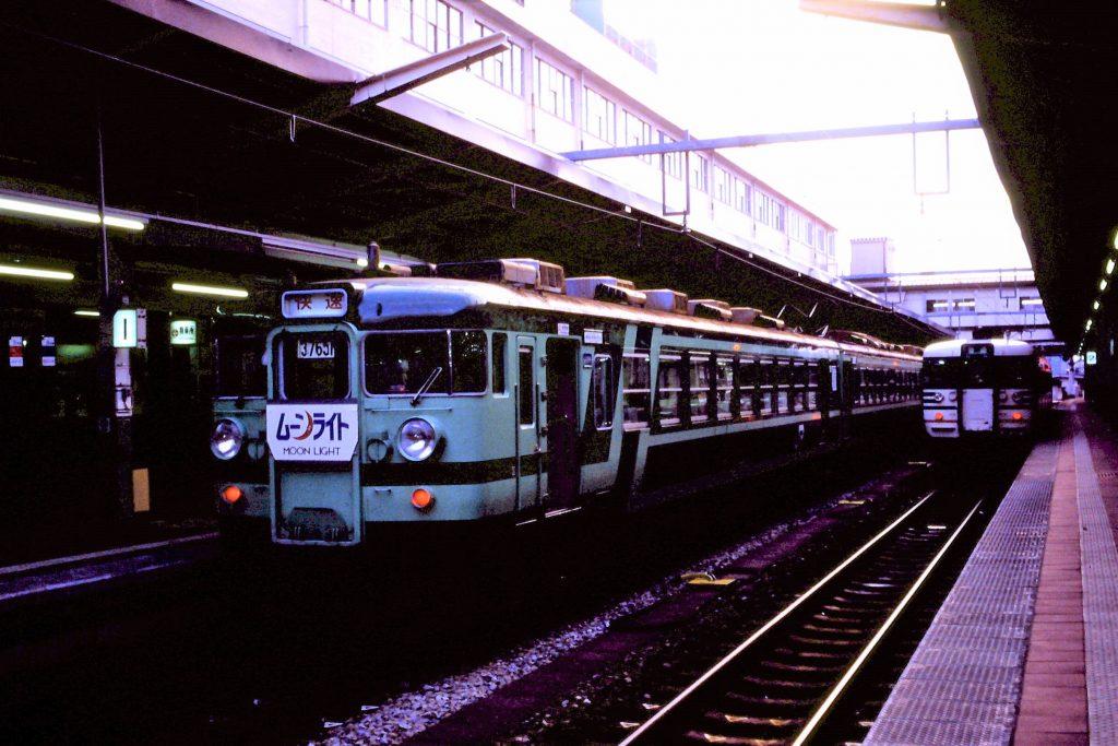 新潟駅1番線